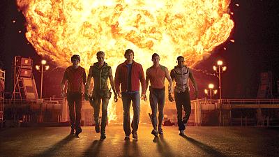"""de Smallville donde pudimos ver por primera vez a """"la Liga de"""