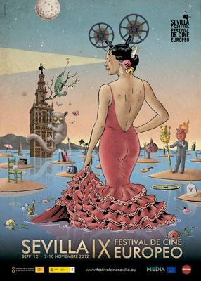 cartel-festival-de-cine-europeo-de-sevilla-2012