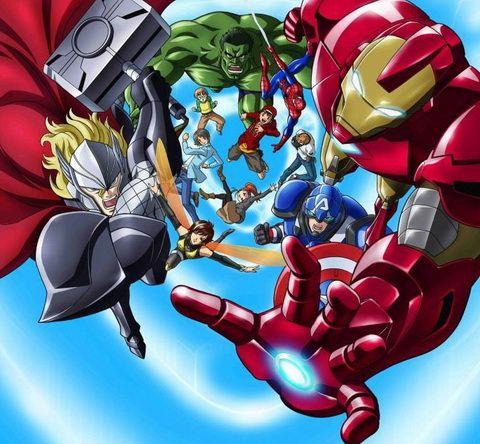 Avengers Anime 01