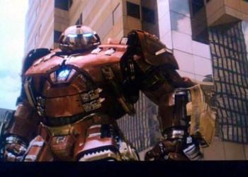 """[Spoiler] Primer vistazo a Ultrón y Hulkbuster en """"Vengadores: La Era de Ultrón"""""""