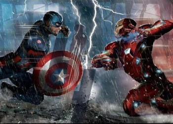 "Primer diseño conceptual de ""Capitán América: Civil War"""