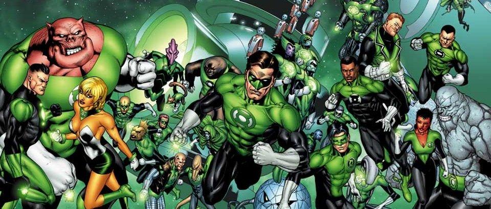 Green Lantern Corps Banner 01