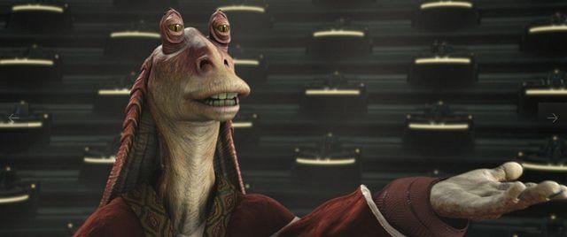 Star Wars The Force Awakens Jar Jar 01