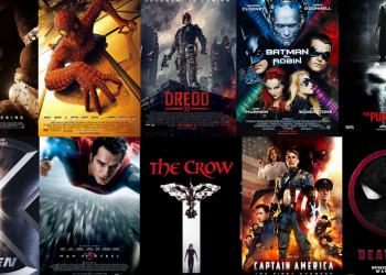 50 años de películas comiqueras