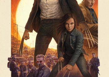 "Póster IMAX para ""Logan"""
